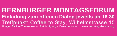 Link zum Bernburger Montagsforum.